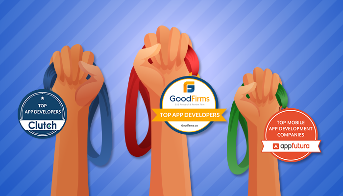 We upheld our brightest presence on GoodFirms', Clutch in the List of Topmost promising mobile app development agency
