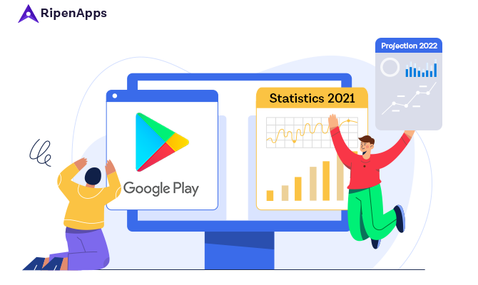Google Play Store Statistics you must consider before building your app in 2021 & 2022
