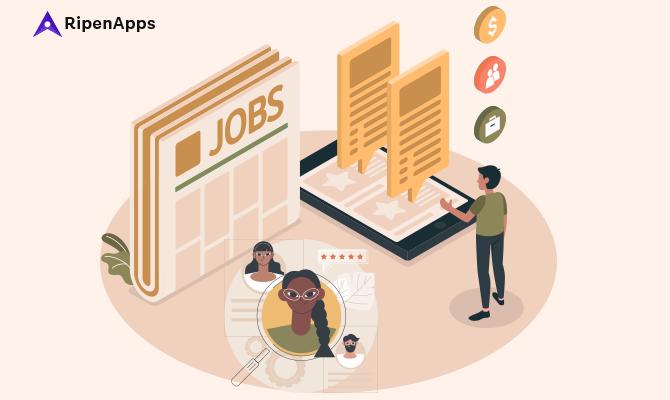 Job Search & Recruitment Mobile App Development: Cost, Features & Market worth