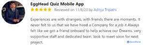 Review: EggHead Quiz Mobile App